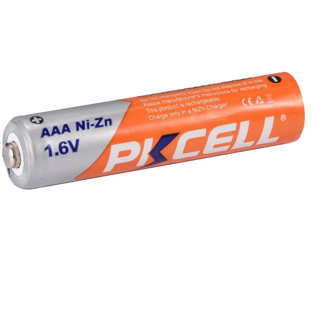 Никель-цинковый аккумулятор Ni-Zn PKCELL АAА 1,6 v, 900mWh