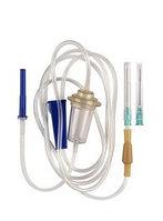 Система для вливания инфузионных растворов с иглой 21 G