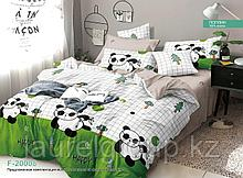 """Постельное бельё """"Панда 20008"""", р-р 1,5 спальный"""