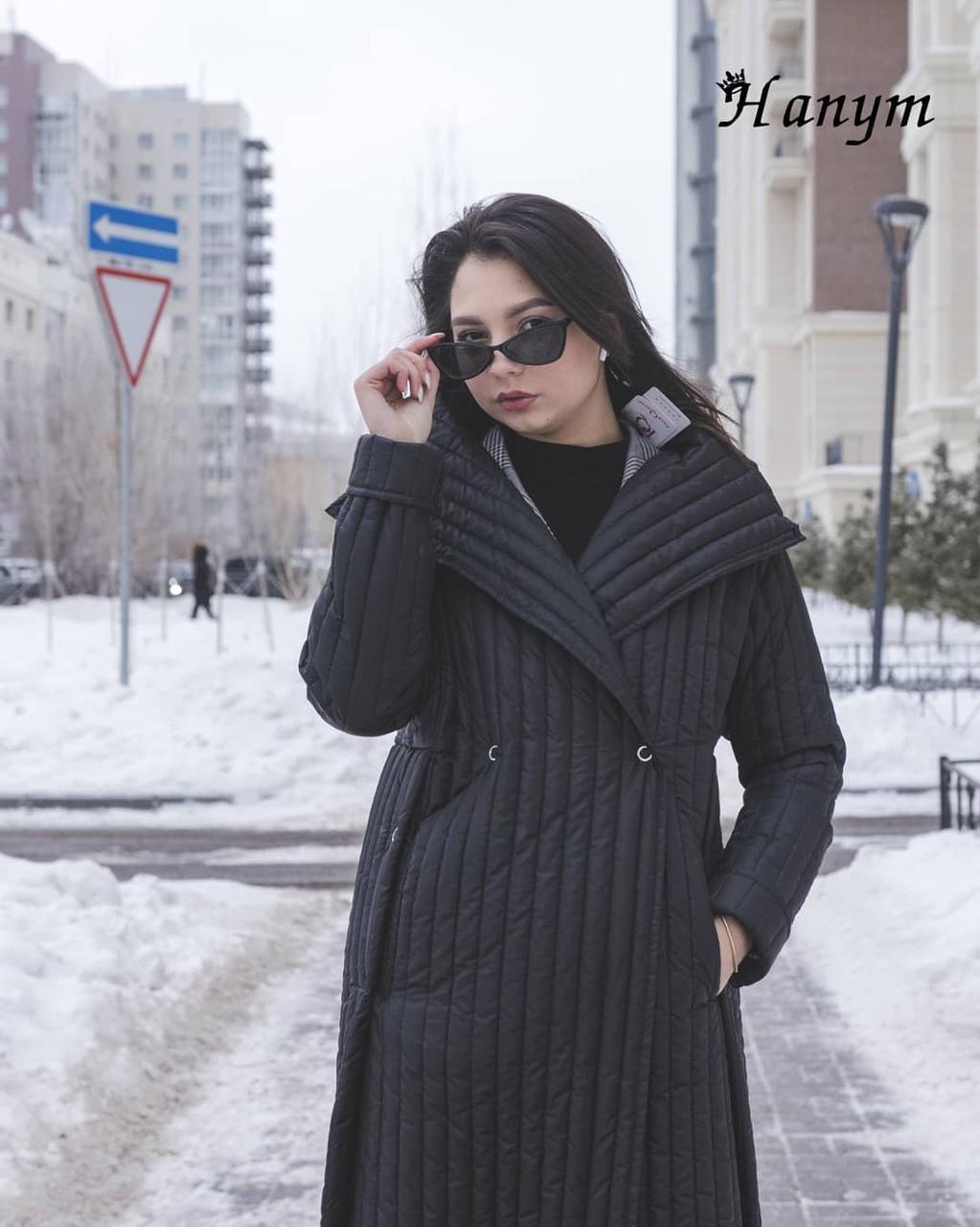 Женское плащ-пальто (весна)