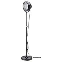 Светильник напольный, СВАРТНОРА черный ИКЕА, IKEA