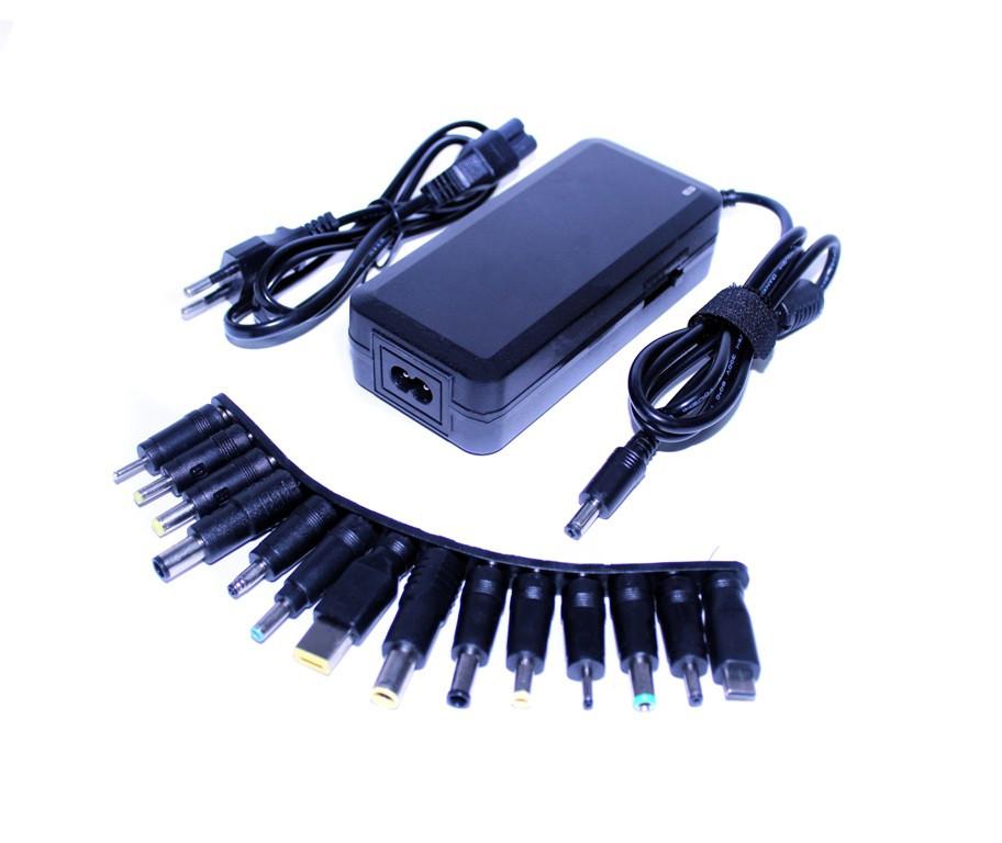 Блок питания универсальный MRM-714, для ноутбука, монитора, планшета, смартфона, 12-24v 6a max, 90w, USB-порт