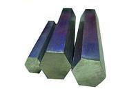 Шестигранник нержавеющий 30 мм 12Х21Н5Т (ЭИ811; 1Х21Н5Т) ГОСТ 5632-2014