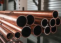 Труба медная 40х5 мм М2М ГОСТ 617-2006 холоднокатаная
