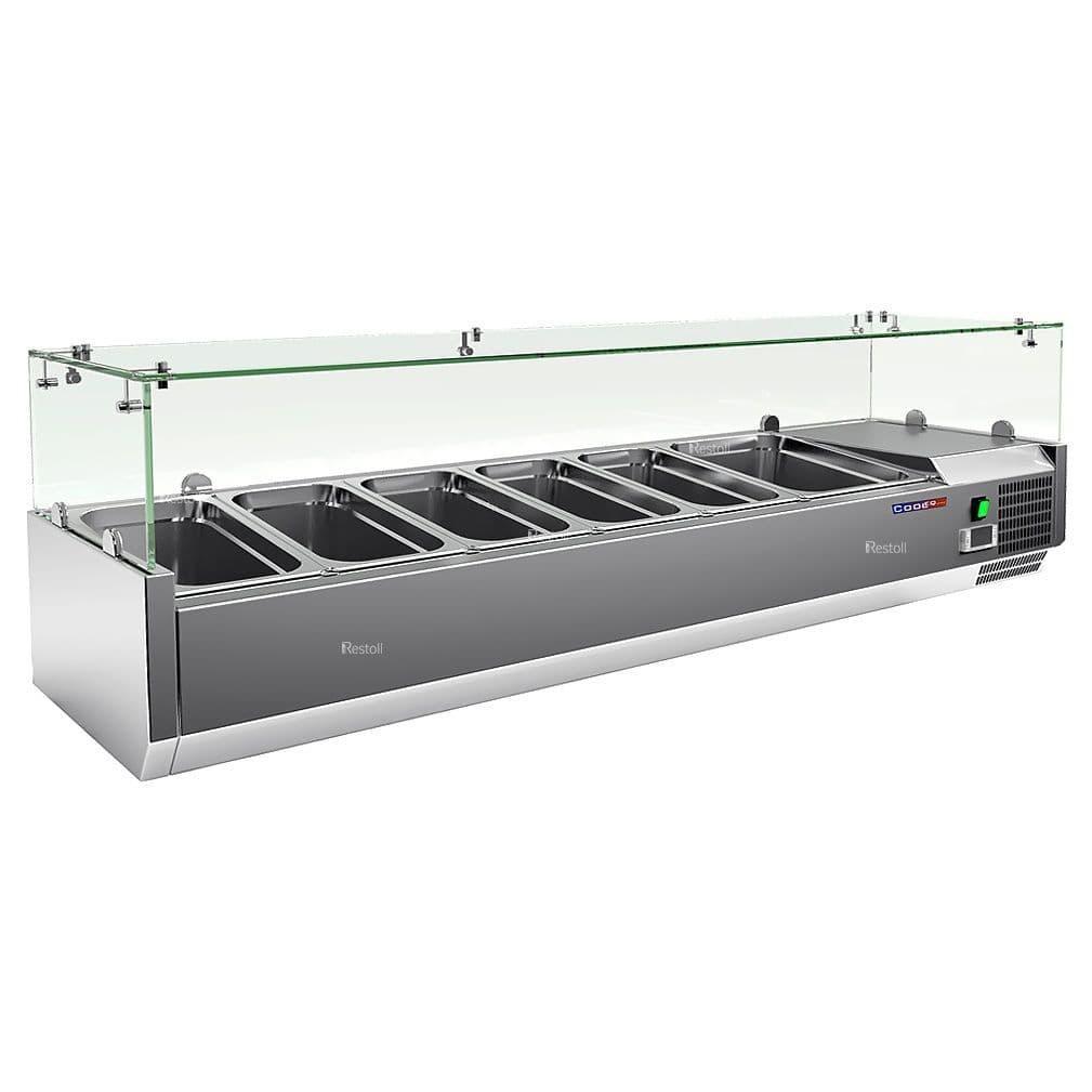 Витрина холодильная Cooleq VRX 1500/380