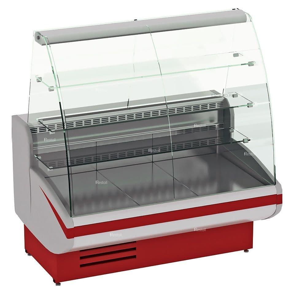 Витрина холодильная Cryspi Gamma-2 К 1350, красная