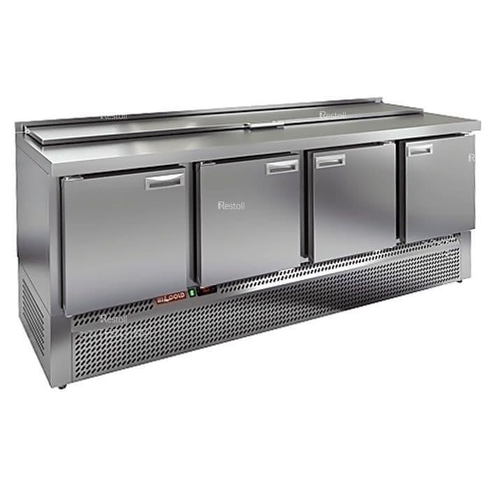 Стол холодильный для салатов (саладетта) Hicold SLE1-1111GN10xGN1/3