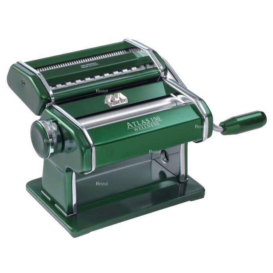 Лапшерезка-тестораскатка ручная Marcato Atlas 150 зеленый MAR020412