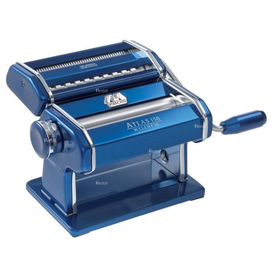 Лапшерезка-тестораскатка ручная Marcato Atlas 150 синий MAR020407