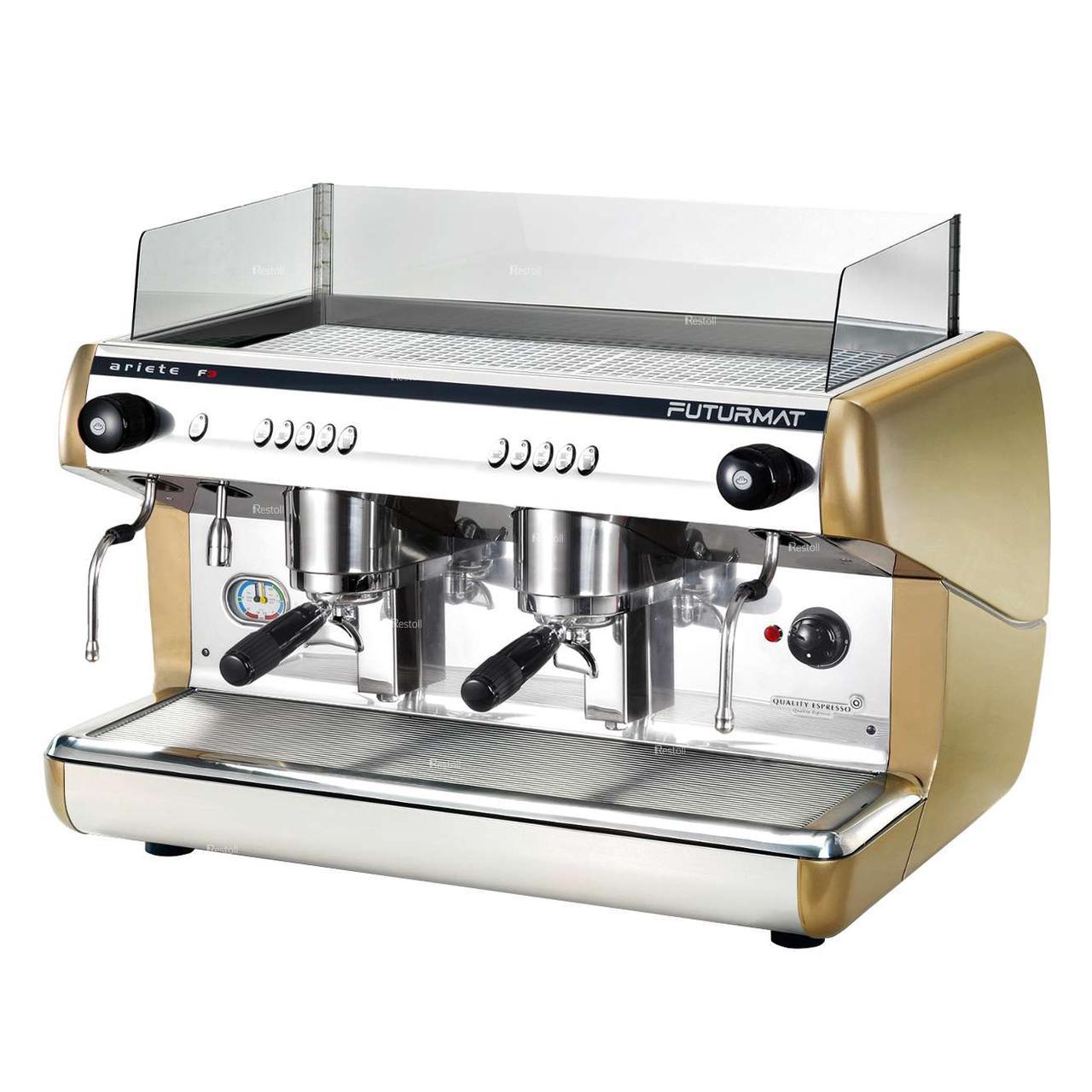 Кофемашина рожковая Quality Espresso Futurmat Ariete F3/A 2Gr