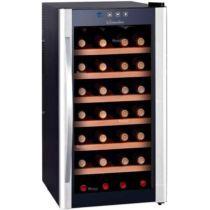 Винный шкаф LaSommeliere LS28KB