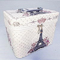 Косметичка-чемоданчик,  Эйфелевая Башня., фото 1