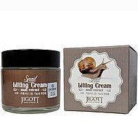 """Подтягивающий крем для лица  """"Экстракт слизи улитки"""" JIGOTT Snail Lifting Cream , 70 мл"""