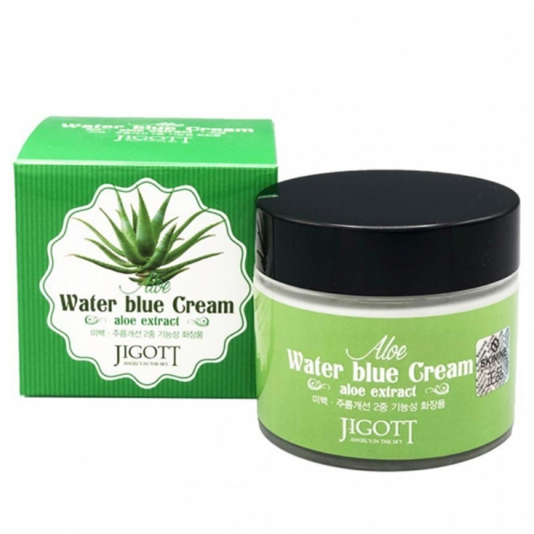 Крем для лица Jigott Aloe Extract Cream 70 ml.