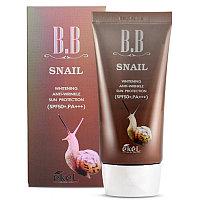 Ekel BB Snail cream spf50+ pa+++ 50ml /ВВ крем с фильтратом муцина улитки