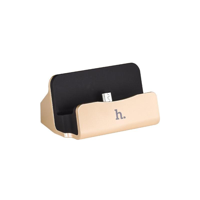 Док-Станция Hoco CPH18 USB Charging Micro USB 1.2m Gold