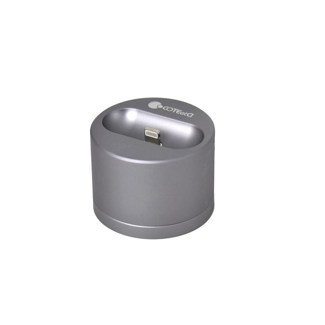 Док-станция Lightning Apple AirPods COTEetCI Base 20 CS7202-GY 2.4A Gray