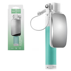 Монопод Hoco K2 Magic Mirror 60cm Green/White