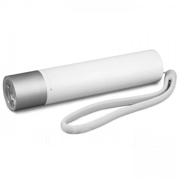 Светодиодный фонарь PowerBank Mijia Portable Flashlight 3350mAh 240 Lumens (LPB01ZM) White