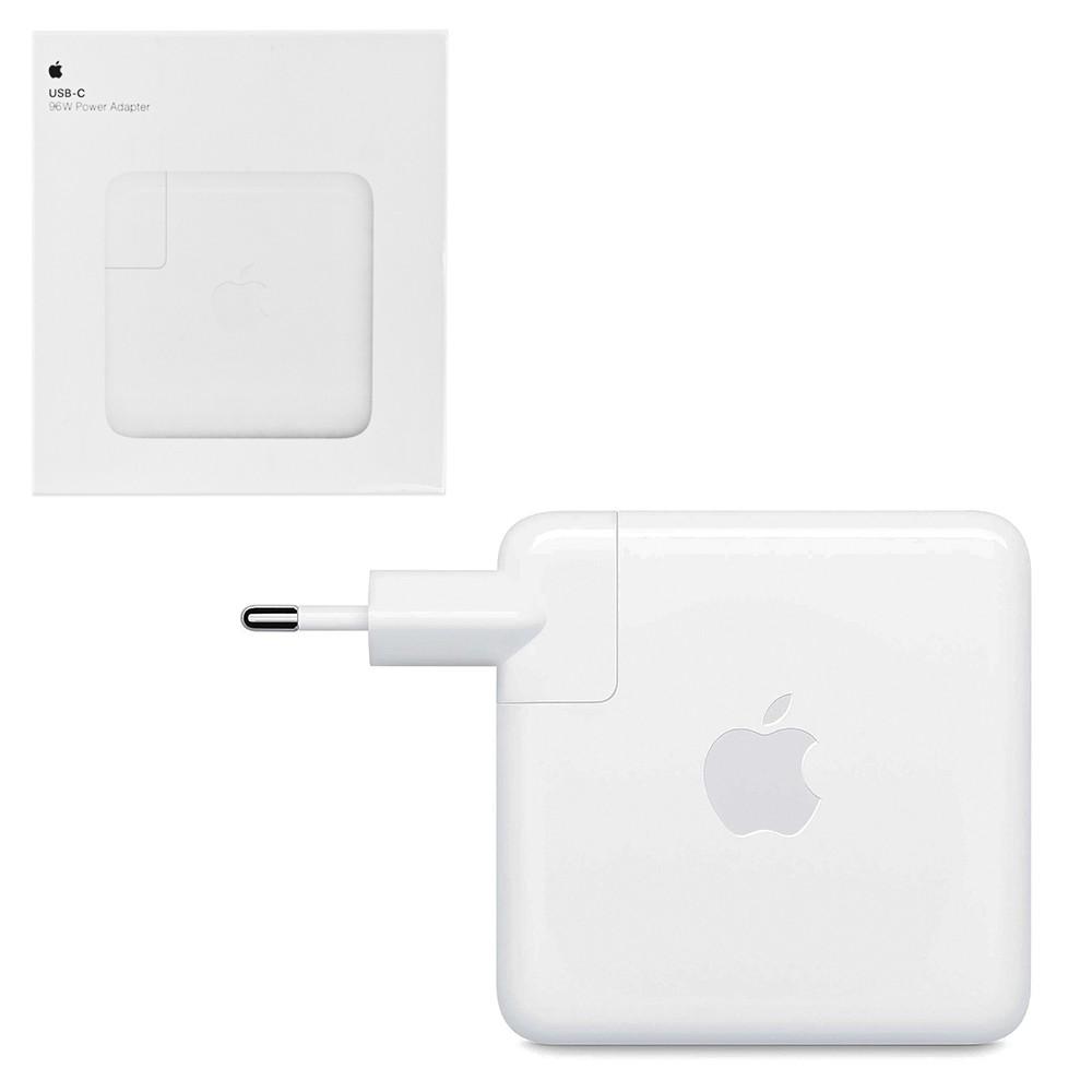 Сетевое зарядное устройство для ноутбука Apple MacBook 96W USB-C  (A2166), White
