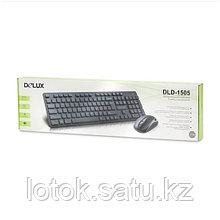Комплект беспроводной Клавиатура + Мышь Delux