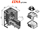 Банная печь Этна Шторм 24 панорама, фото 2