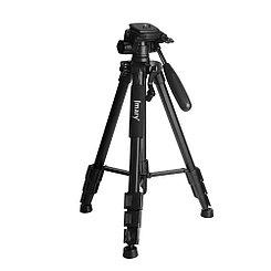 Штатив Tripod ZK-2234 + 3D Головка, (1.4m), Black