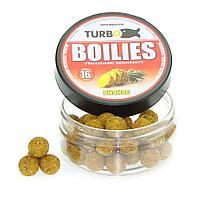 Бойлы TURBO 16mm (669112=Ананас, желтый - 100 грамм)