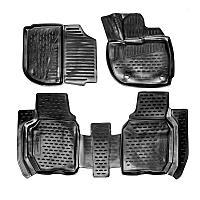 Коврики Autofamily модельные Honda Fit c 2013 г. (правый руль), черный цвет, 4шт