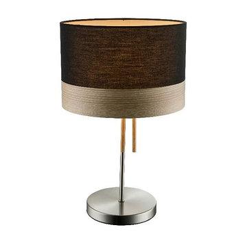 Настольная лампа CHIPSY 1x60Вт E27 черный 30x30x47см
