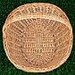 Корзина «Фруктовая», 30/35×21/45×13/18/40 см, ручное плетение, ива, фото 2