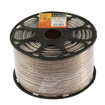 Светодиодная лента Ecola, 60Led/m, 4,8 Вт/м, 220 В, 240Lm/m, 4200 К, IP68, катушка 100 м.