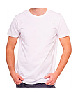 Футболки Хлопок с лайкрой, Ткань пр-во Турция, цвет белый