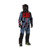 Комбинезон FXR Helium без утеплителя, размер 2XL, чёрный, серый, красный