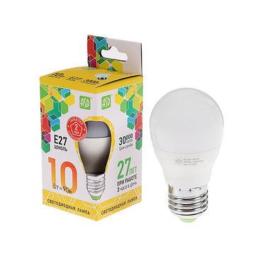 Лампа светодиодная ASD LED-ШАР-standard , Е27, 10 Вт, 230 В, 3000 К, 900 Лм