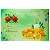 """Наклейка на кафельную плитку """"Апельсины и томаты"""" 90х60 см"""