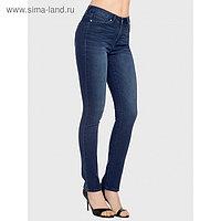 Джинсы женские, размер 50, рост 164 см, цвет тёмно-синий
