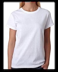 "Футболка Х/Б, 38(4XS) ""Style woman"", Турция, цвет: белый"