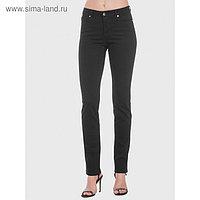 Джинсы женские, размер 50, рост 170 см, цвет чёрный