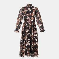 Платье женское миди MIST р.48, чёрный