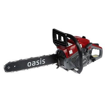 """Бензопила Oasis GS-16, 1600 Вт, 2.1 л.с., 3000 об/мин, 40.2 см3, 16"""", шаг 3/8"""", 57 звеньев"""