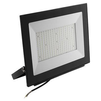 Прожектор светодиодный Uniel, 200 Вт, 20000 Лм, 6500 К, IP65, 120°, черный