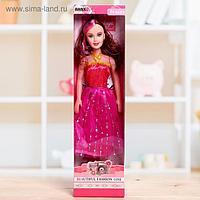 Кукла ростовая «Лида» в платье, высота 41 см