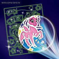 "Лунная фреска ""Единорог"""