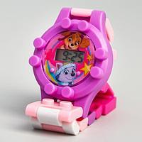 """Щенячий патруль. Часы наручные лего """"Скай и Эверест"""", с ремешком-конструктором, PAW PATROL"""