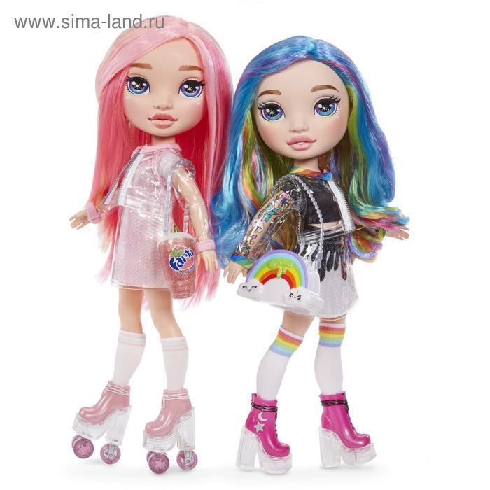 Кукла Poopsie, розовая/радужная, 35 см - фото 2