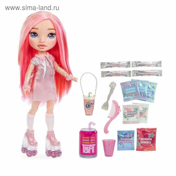 Кукла Poopsie, розовая/радужная, 35 см - фото 3