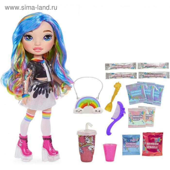 Кукла Poopsie, розовая/радужная, 35 см - фото 4