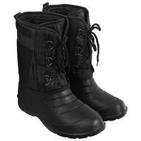 Сапоги зимние 'Аляска' мужские, цвет чёрный, на шнуровке, размер 45/46