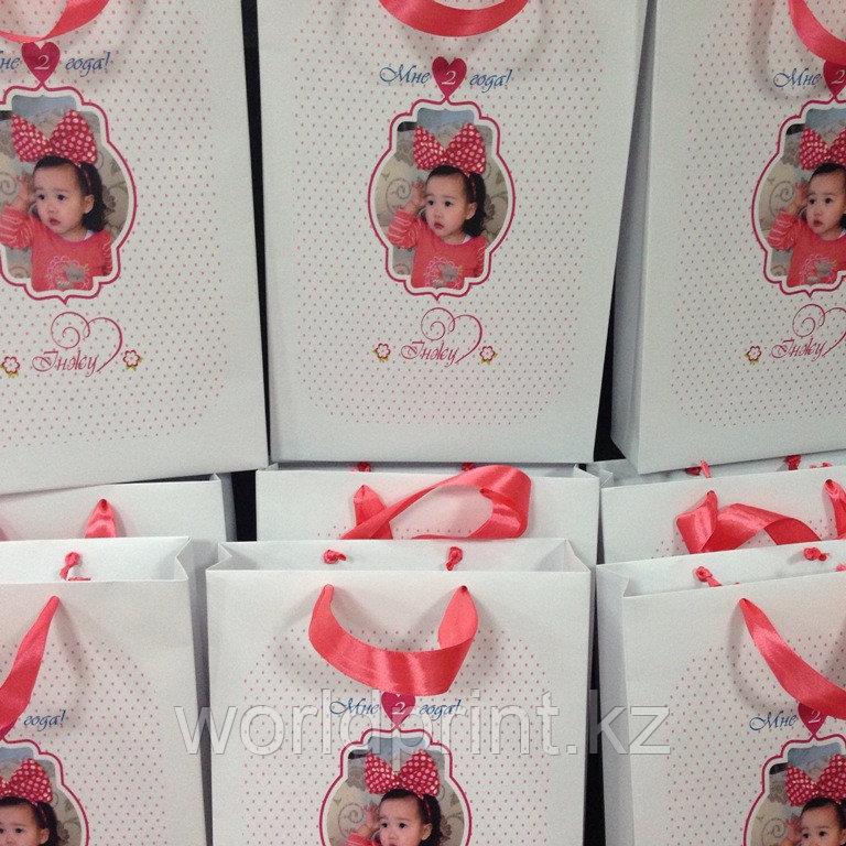 Детские пакетики, подарочные бумажные пакеты